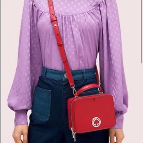 Kate spade vanity mini top handle crossbody bag